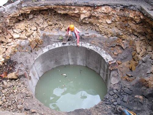 安庆污水管道封堵&——&水下打捞