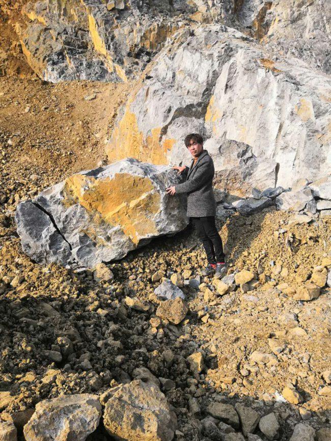 漳州清除场地破硬石头大石块的机器