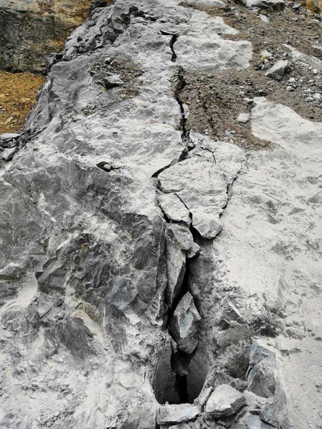 蚌埠五河露天巖石開采代替放炮設備