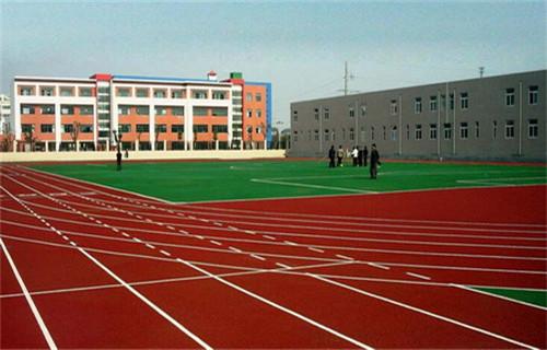 湖南混合型塑胶跑道球场材料厂家