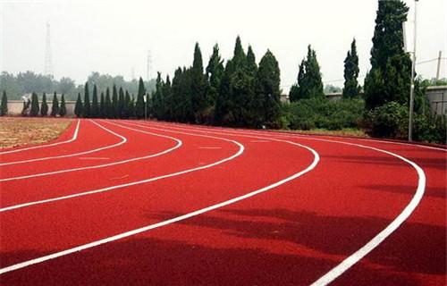 济南市章丘环保型塑胶跑道厂家销颗粒