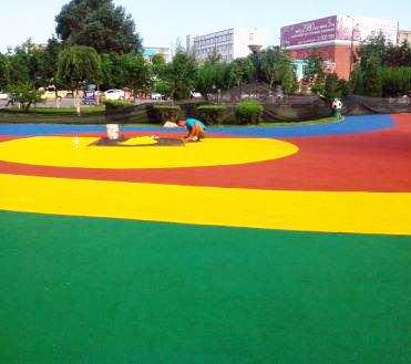 内蒙古EPDM公园跑道新国标材料