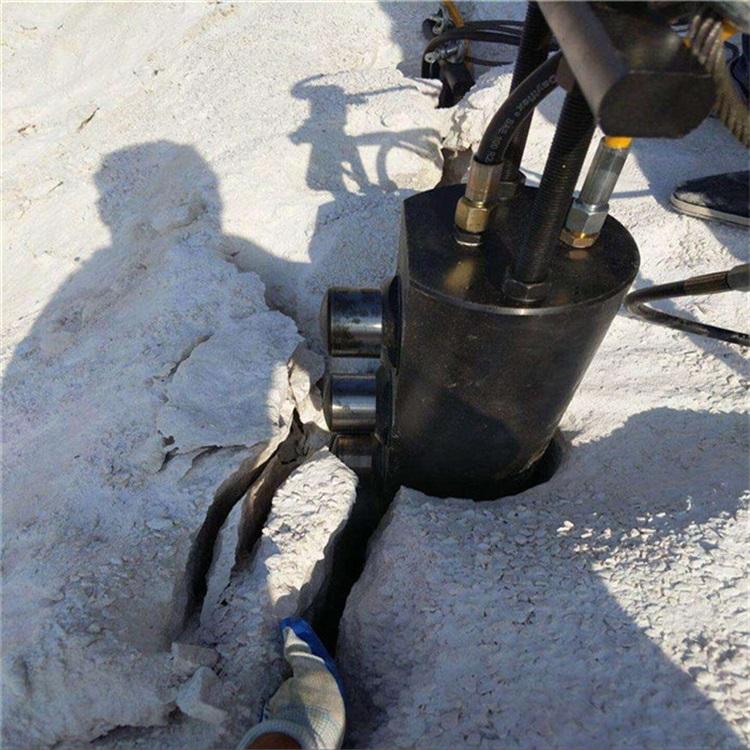 池州不用膨胀剂快速分石机设备使用说明