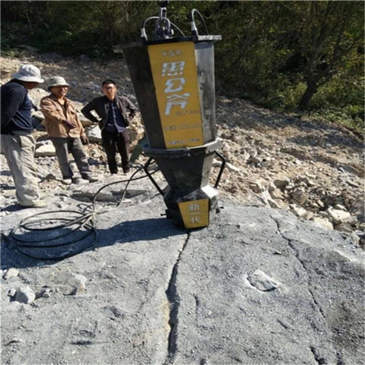 沧州代替挖机石头顶裂器大型矿山批发/