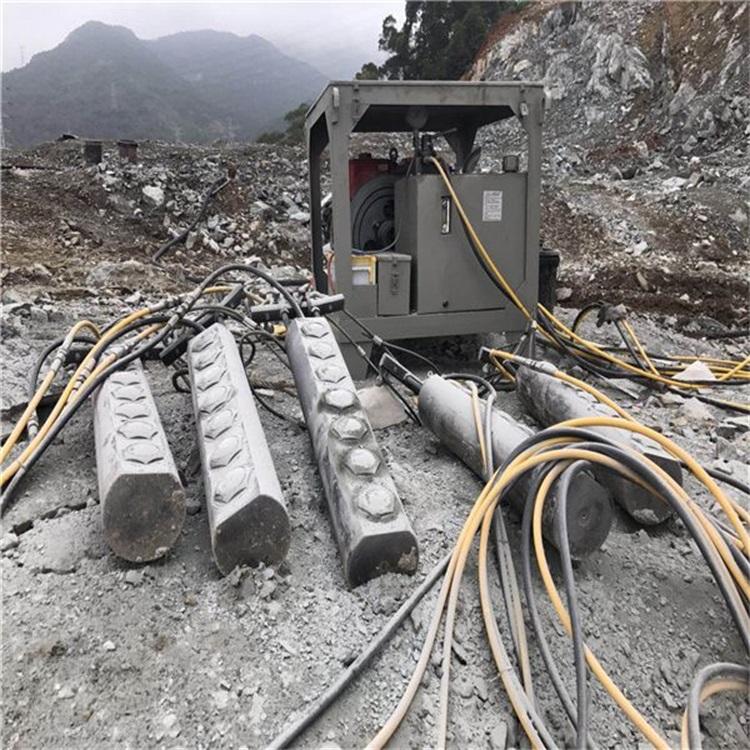 抚州矿山胀裂岩石劈石机节能