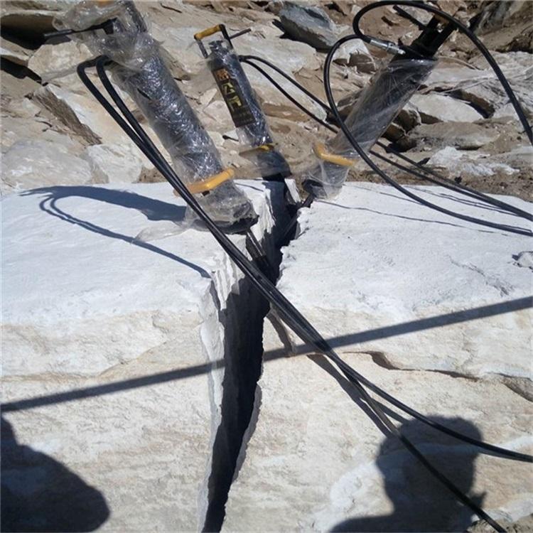 天津取代破碎锤石材开山机代理商
