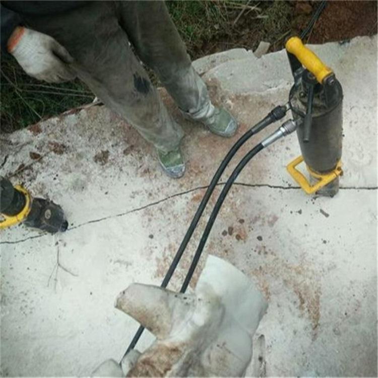 池州取代挖机破石分解硬石行情价格