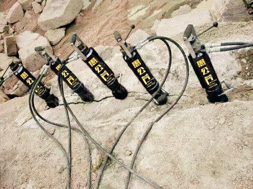 安庆怀宁开挖石头工程开挖石头静态撑石机