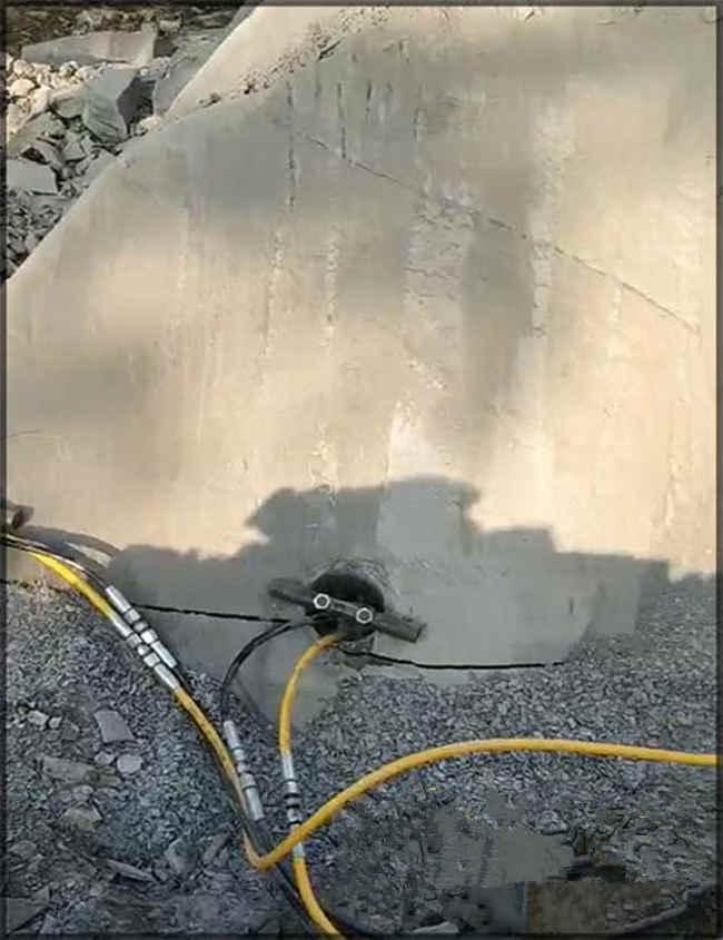 宜宾兴文石英石竖井开挖裂石器-