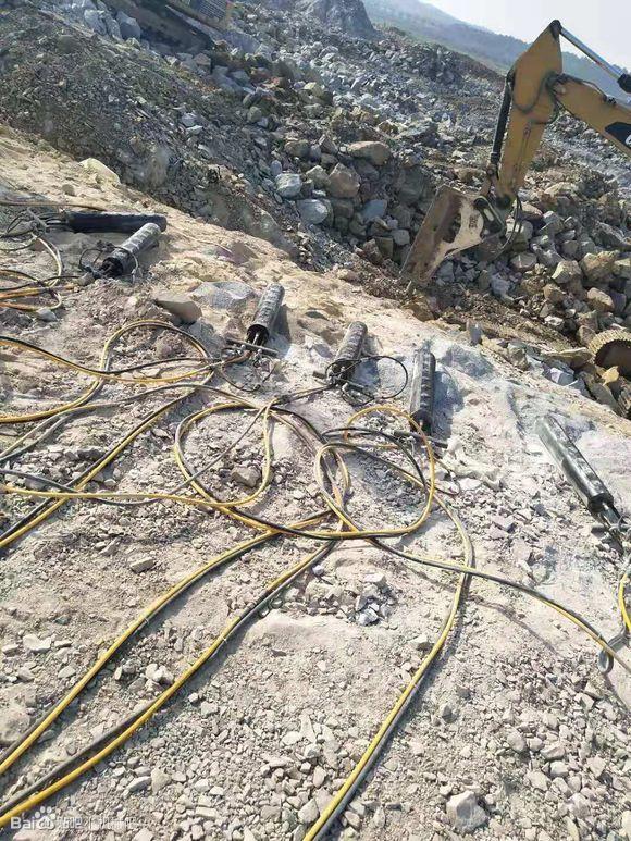 锦州岩石劈裂机每天能劈多少方