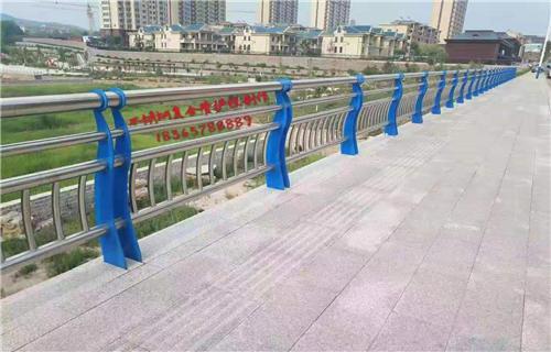 洛阳桥梁复合管防撞栏杆生产厂家