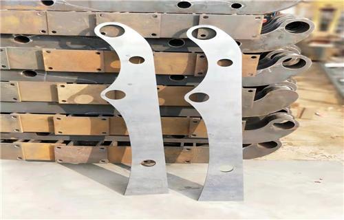 江苏不锈钢复合管桥梁扶手-亮洁护栏实体工厂