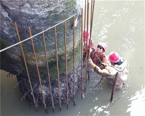 水下管道焊接——(池州市鸿鹄之志