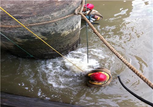 水下混凝土桥墩施工——新余高质量
