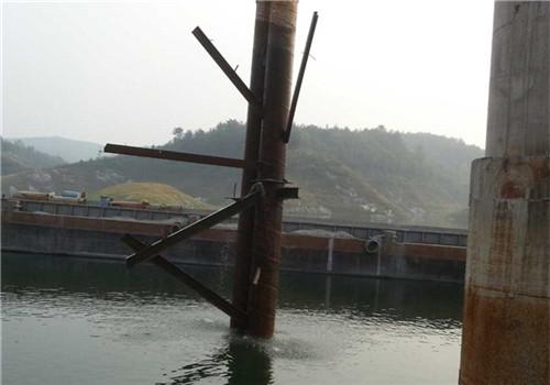 码头淘空加固——内江在我心中