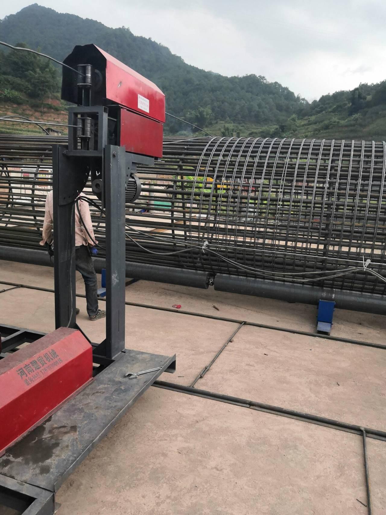 蚌埠鋼筋籠雙繞筋盤絲機機我有啥看點
