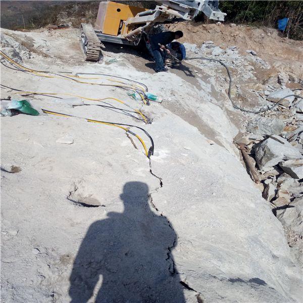 漳州先进的劈裂棒矿山开采机器