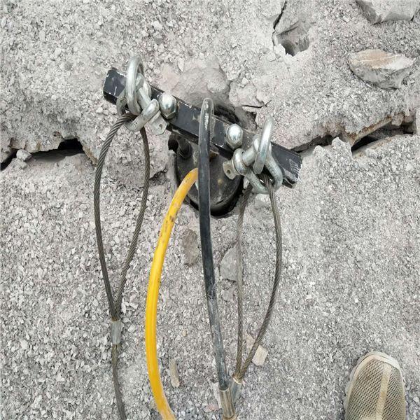 大同忻州柴油液压路面破石劈裂机型号性能