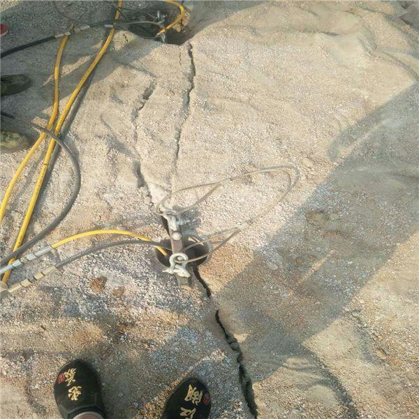 蚌埠液壓巖石分裂劈裂機