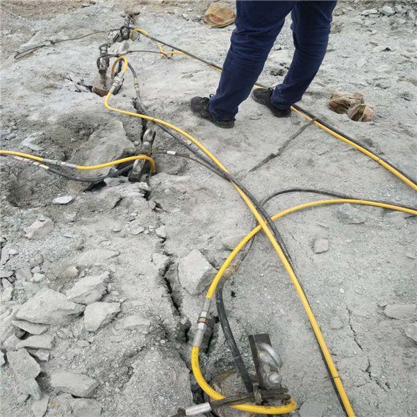漳州有一种叫做水压劈裂机