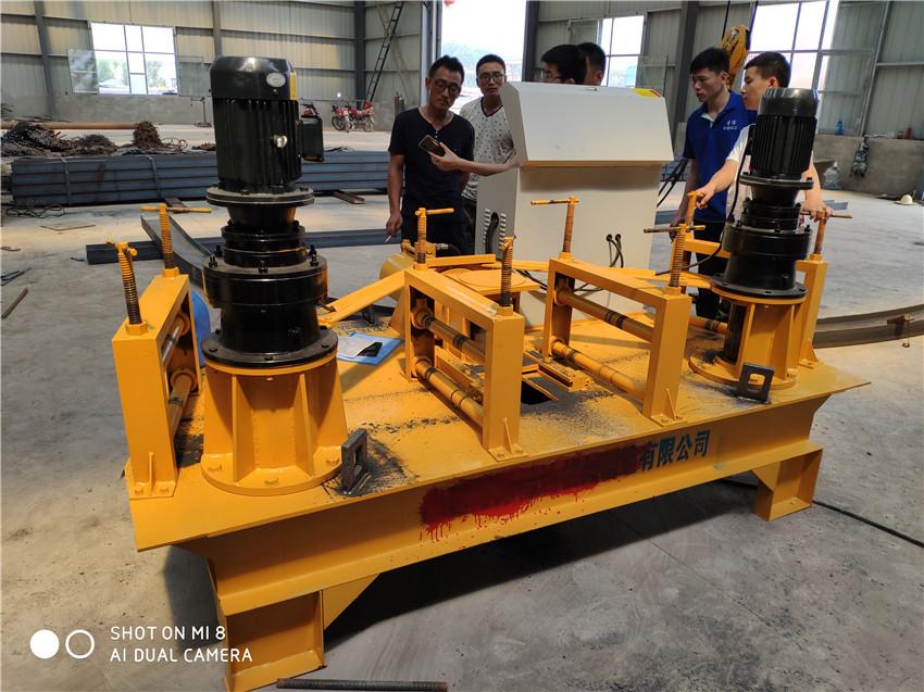 西藏隧道液压全自动工字钢弯拱机