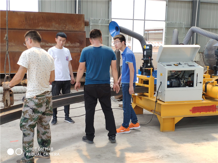 西藏H钢U型钢弯拱机冷弯器