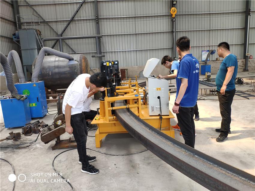 江西隧道支护型钢工字钢冷弯机