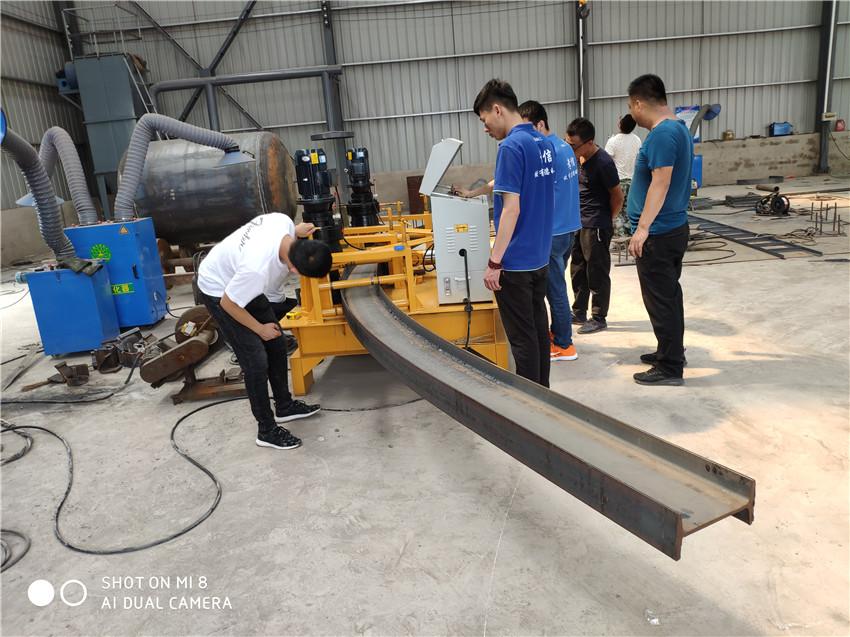 宁德32工字钢冷弯机槽钢弯拱机