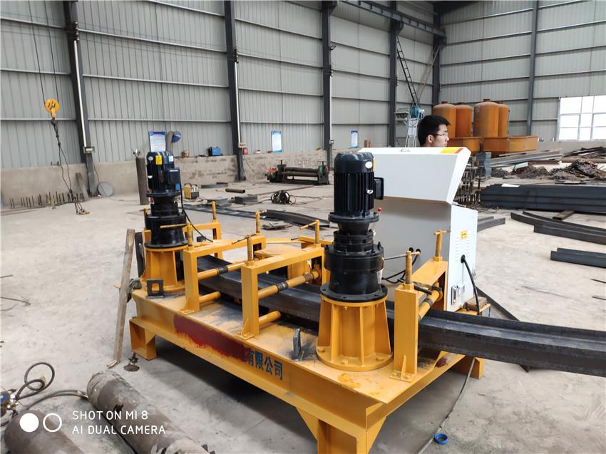 蚌埠液壓一次成形工字鋼彎曲機