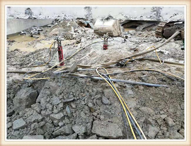 蚌埠石方破碎分裂機幾十秒分裂