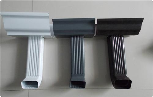 新闻指出:浙江彩铝雨水管施工发货