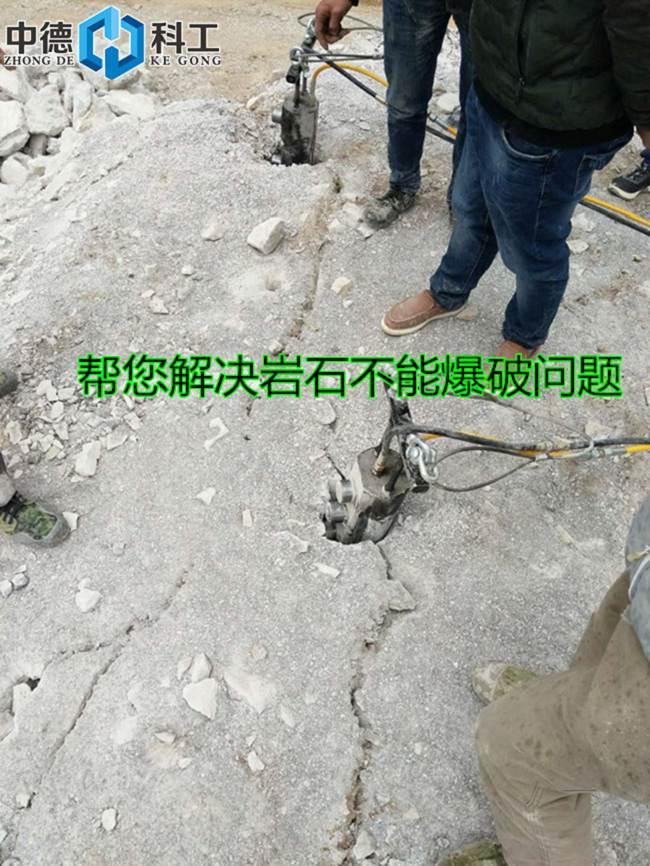 廊坊代替传统开采岩石设备