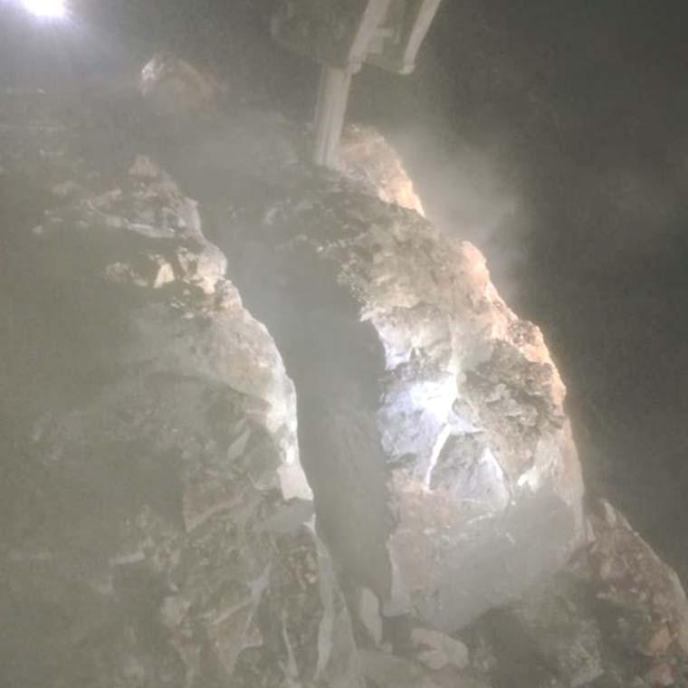 蚌埠快速劈碎硬石頭設備
