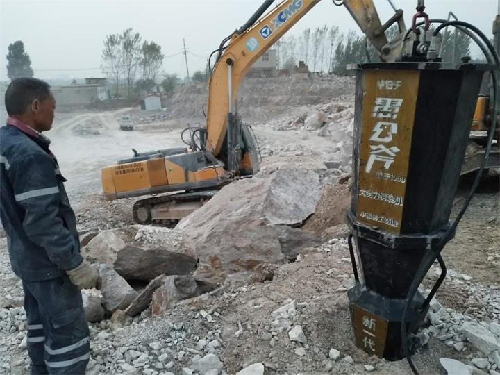安庆岩石开采开采破裂石头机器