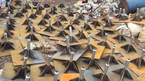 山东镀锌钢管加工观测杆-达讯桩基