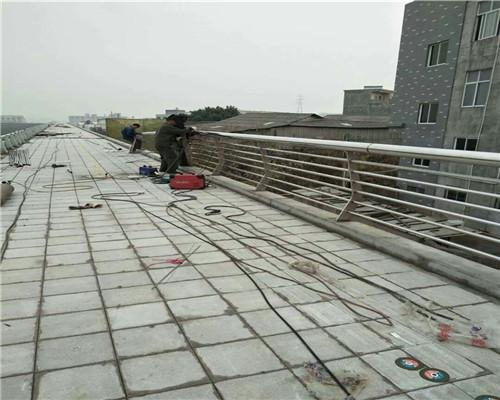 宁德201道路景观栏杆热镀锌钢板立柱