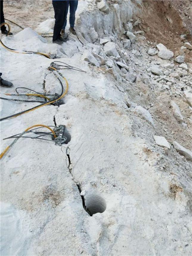 江西砂岩路基扩建劈石器高产量开采黄石厂家