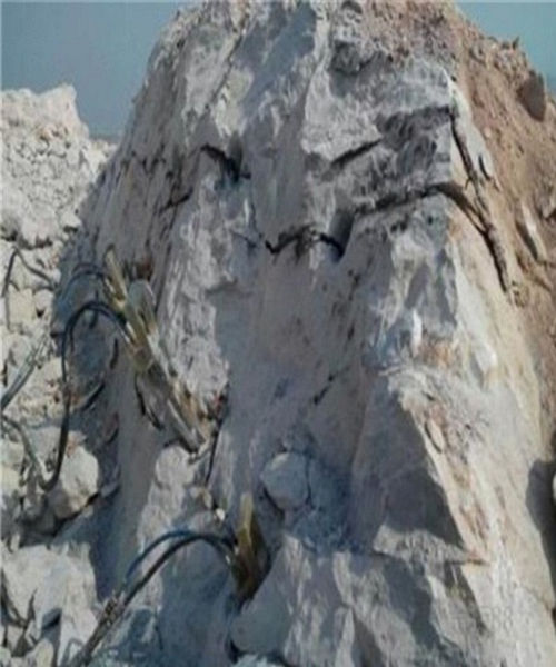 安庆修路开矿山破石头分裂机