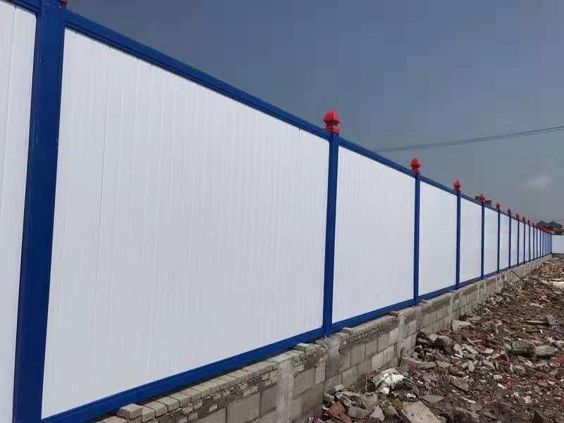 龍子湖pvc圍擋塑料圍欄廠家現貨