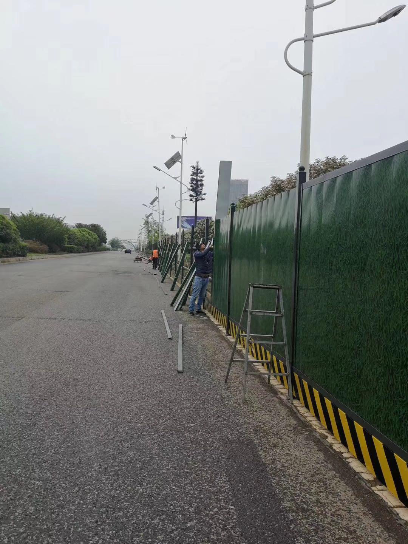 马鞍山pvc围挡施工围墙厂家定制
