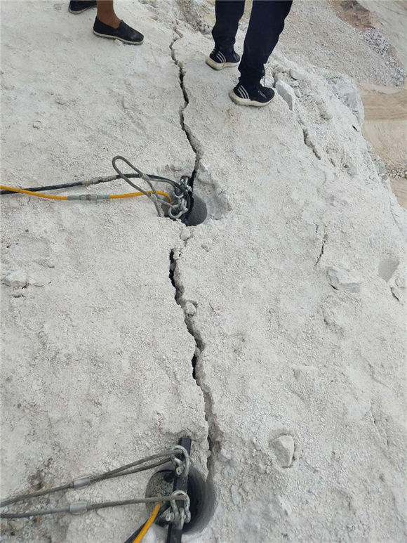 福建公路扩宽气体岩石劈裂机