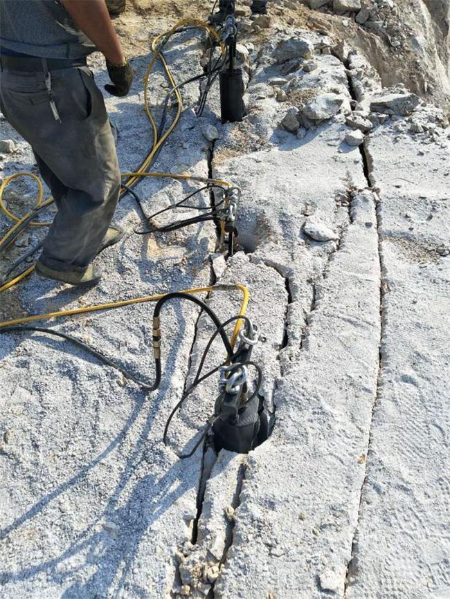 宁德修路破石岩石拆除破石头机器