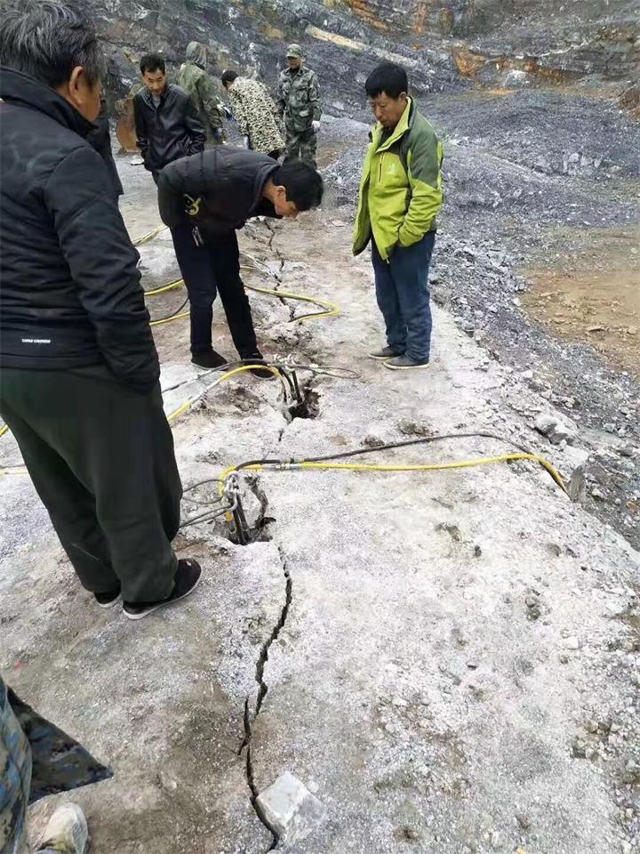 宁德采石场不能放炮开采岩石成本低