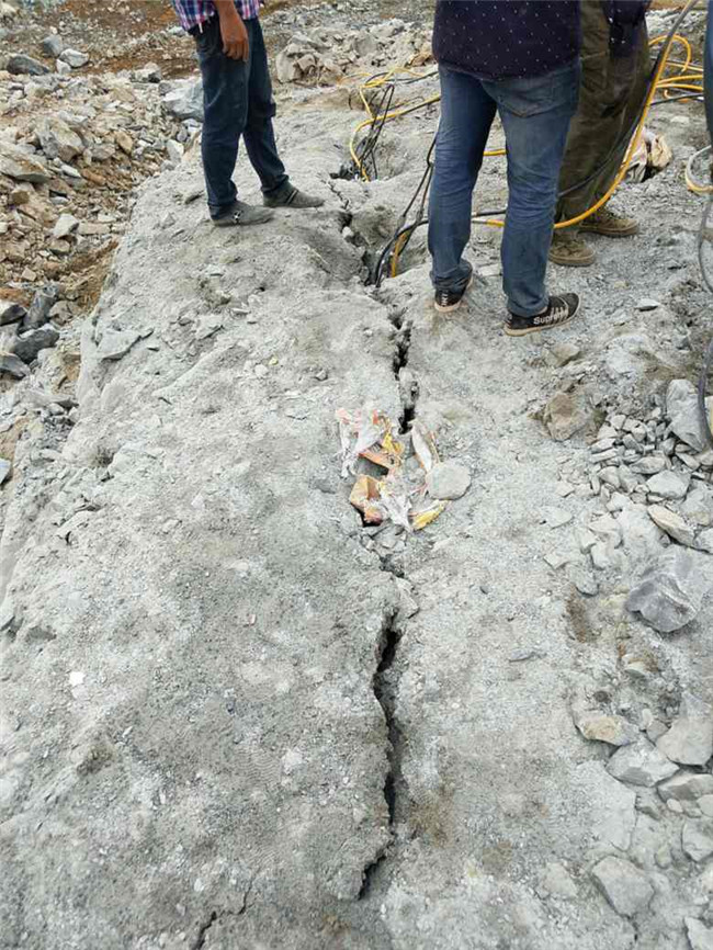 黔西南桩基土石方工程用混凝土破裂机