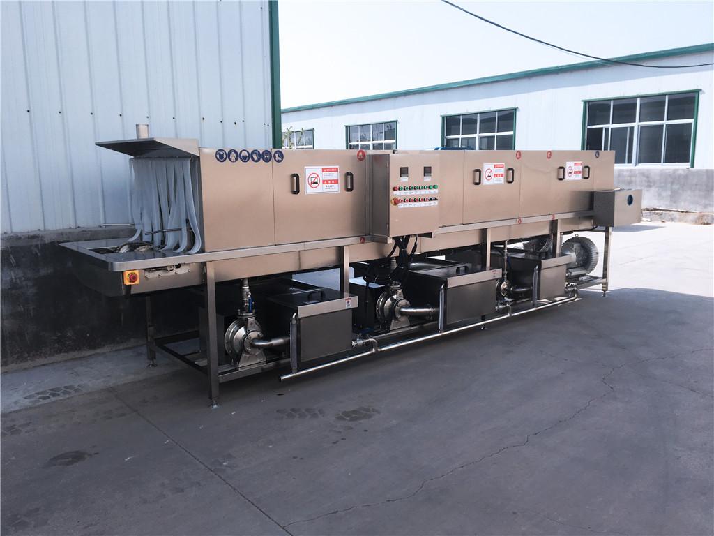 洛阳托盘栈板清洗机高压喷淋360度无损清洗不伤容器效率高