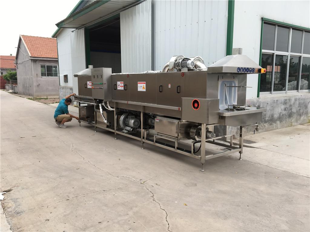 东营田子重型塑料托盘清洗机整机304不锈钢材质耐用适用不生锈