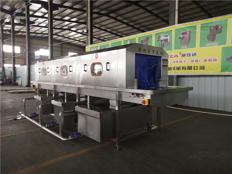 黑龙江食品筐清洗机清洗消毒一次完成自动化生产行业趋势