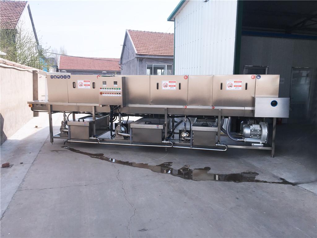西藏胶筐清洗机实体厂设计生产