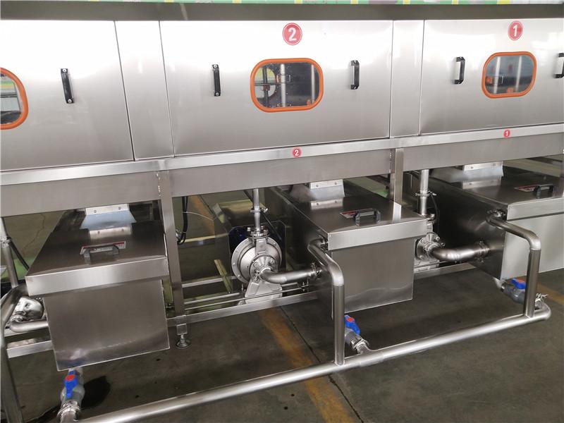 漳州仓库配送筐清洗机整机食品级304不锈钢材质耐用不生锈干净卫生洗箱机