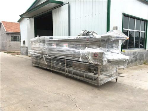 海南鸡蛋配送托盘清洗机实体厂设计生产